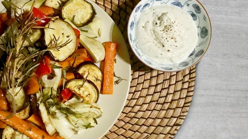 Sanguinum Abnehm-Rezept: Ofengemüse mit Rosmarin und Knoblauch