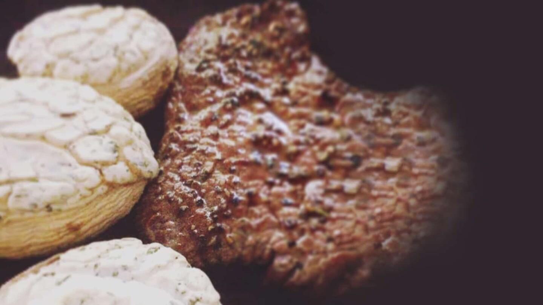 Abnehmrezept: Gefüllte Pilze mit Minutensteak