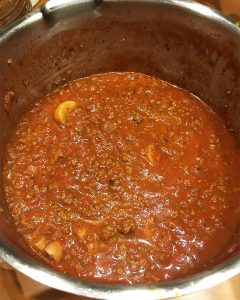 Selbstgemachte Bolognese