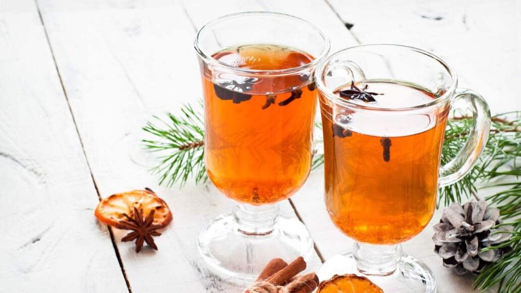 Weihnachtlicher Sanguinum Früchtetee