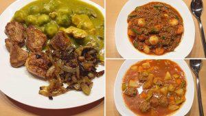 Mahlzeiten des Sanguinum Abnehmbloggers Patrick