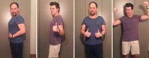 Sanguinum Gastblogger Pierre und Remus haben je 15 kg abgenommen