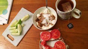 Sophies Frühstück in der Sanguinum Stoffwechselkur