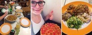 Sanguinum Abnehmbloggerin Sophie präsentiert einige leckere Gerichte