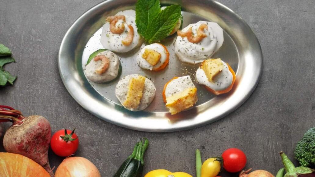 Der kalorienarme Party-Snack nicht nur für Kurteilnehmer... || Sanguinum Stoffwechselkur