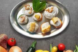 Der kalorienarme Party-Snack nicht nur für Kurteilnehmer...    Sanguinum Stoffwechselkur