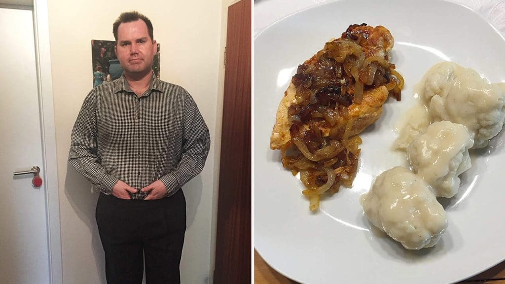 Abnehmblogger Patrick nach einem halben Jahr Sanguinum