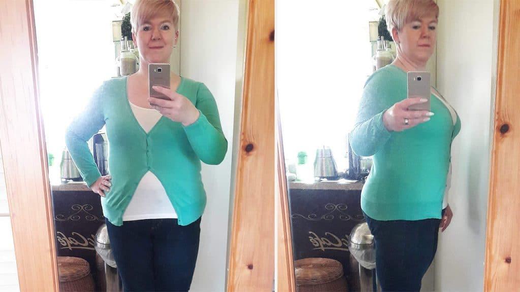 Sanguinum Gastbloggerin Ivonne zeigt stolz ihre Fortschritte