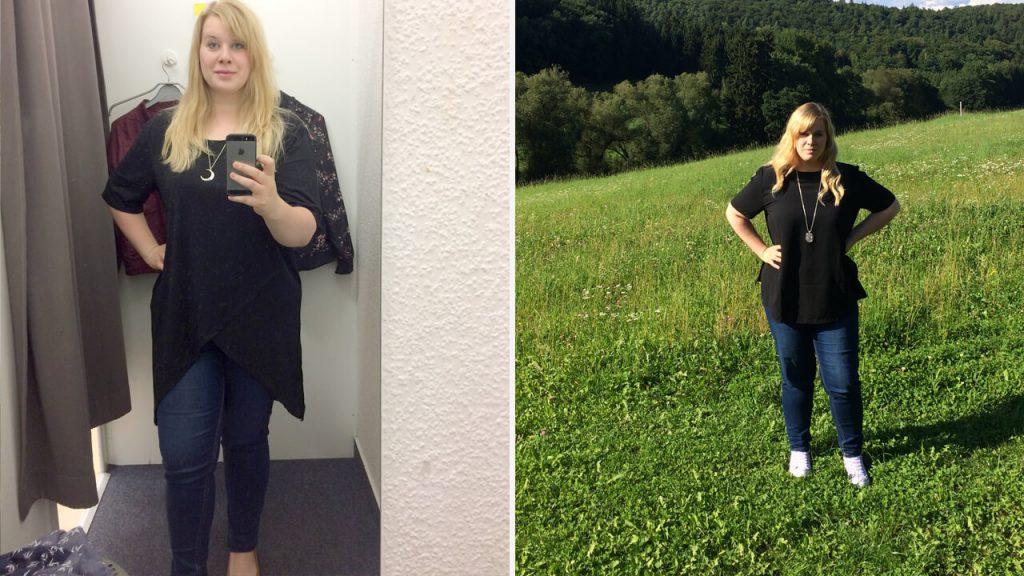 Sanguinum Abnehmbloggerin Luisa hat mittlerweile 20 Kilo abgenommen