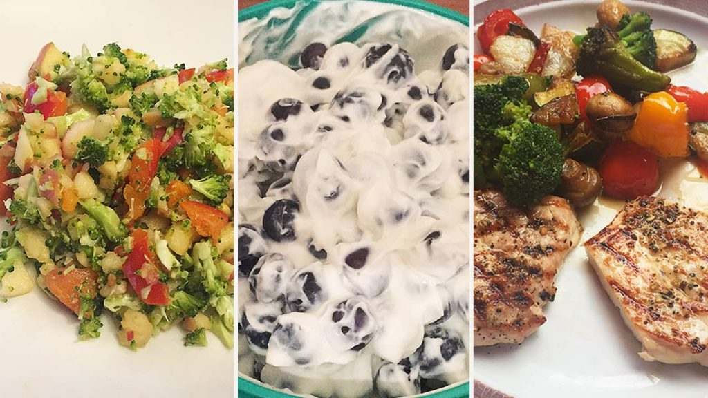 Eine Auswahl an leckeren Sanguinum-Gerichten von Abnehmblogger Patrick