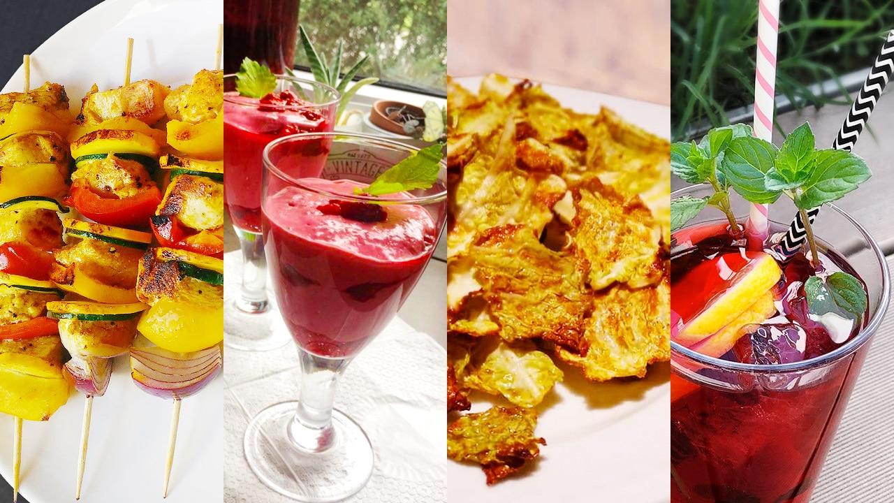 Leckere und kalorienarme Snacks zur WM!
