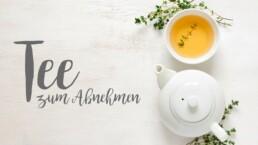 Abnehmen mit Tee?