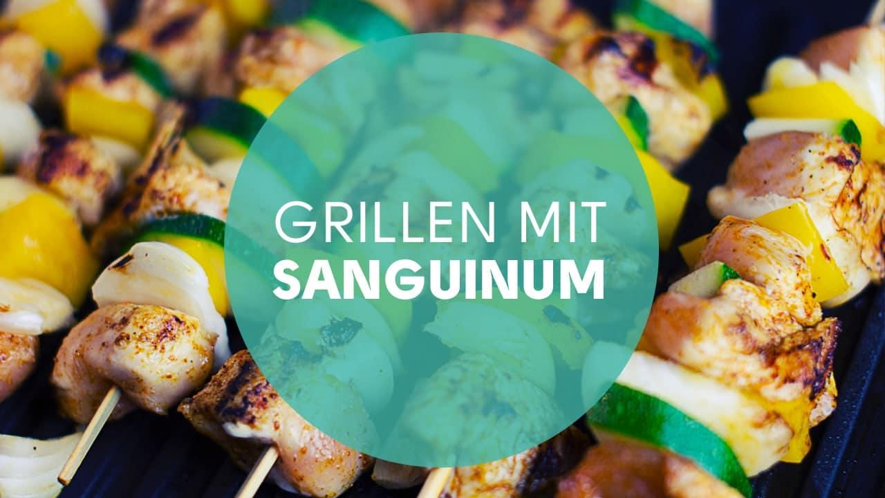Kalorienarm grillen mit Sanguinum