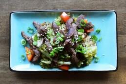 Rinderfilet-Gemüse-Pfanne 1