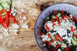gurke hackfleisch salat zum abnehmen