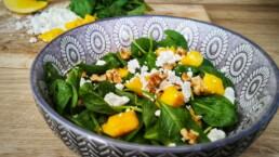 Spinat salat gesund rezept