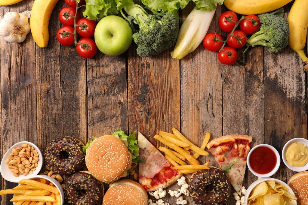 Säure-Basen-Haushalt: Obst & Gemüse vs. Fast Food