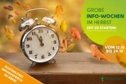 Große Info-Wochen im Herbst! 1