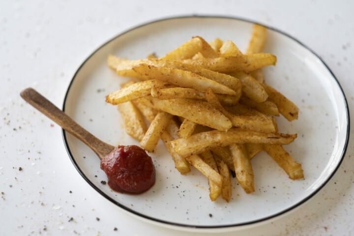 Low Carb Kohlrabi Pommes